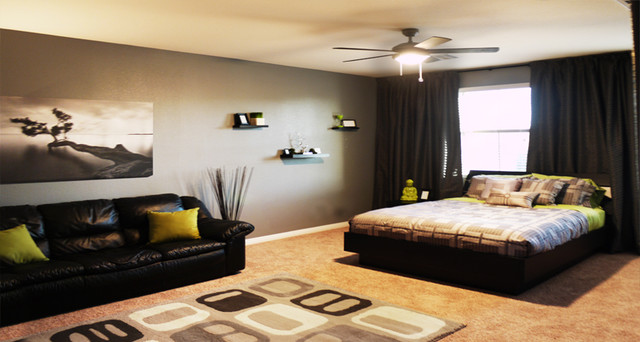 Modern Bachelor S Room Modern Bedroom Las Vegas By