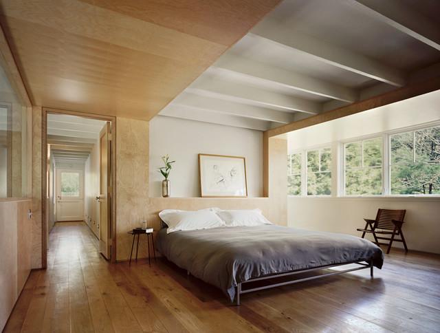 Modern Barn Bedroom contemporary-bedroom
