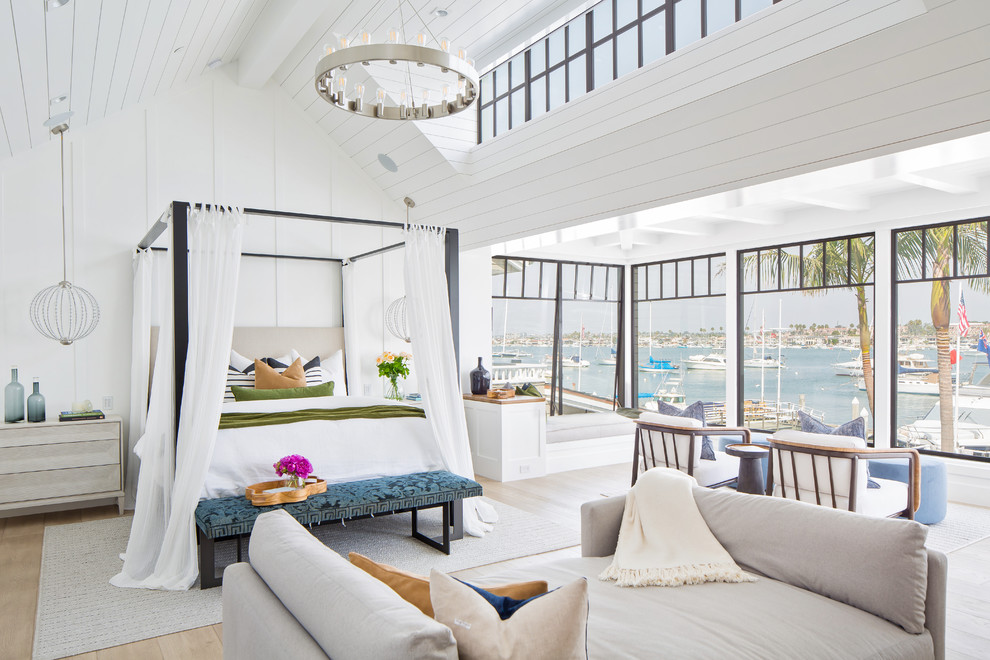 Modern Beach House Beach Style Bedroom Orange County By Patterson Custom Homes