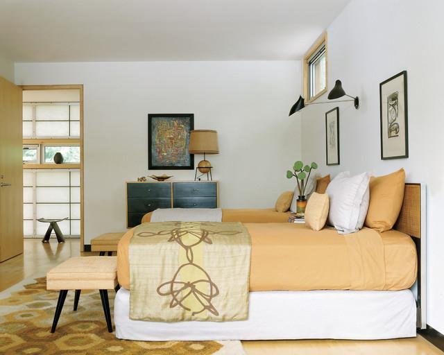 Camera da letto anni 39 50 arredamento vintage for Oggetti di design on line