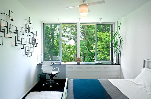 Noyack Creek modern-bedroom