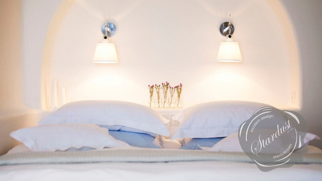 bedroom design with artemide tolomeo wall lamps modern bedroom
