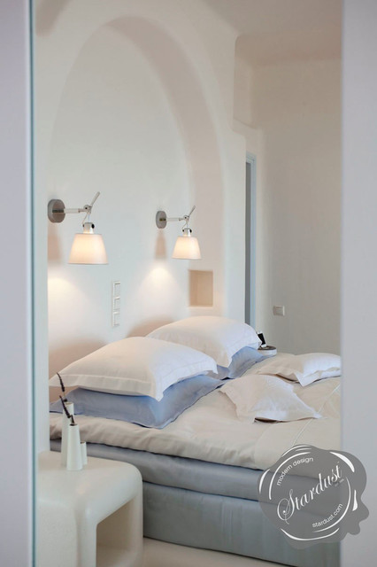 Tolomeo Wall Lamp Bedroom : Modern Bedroom Design with Artemide Tolomeo Wall Lamps - Modern - Bedroom - new york - by ...