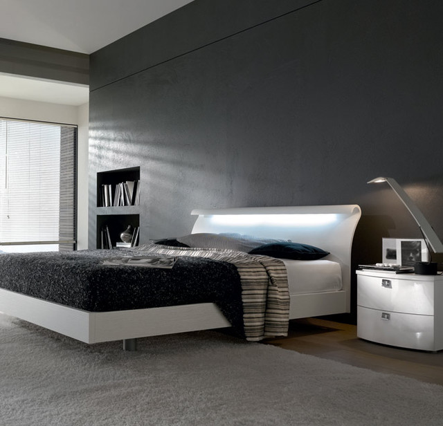 Milo Wooden Italian Platform Bed modern-bedroom