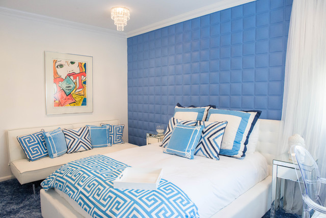 Modern Bedroom - Contemporary - Bedroom - New York - by In Two Design