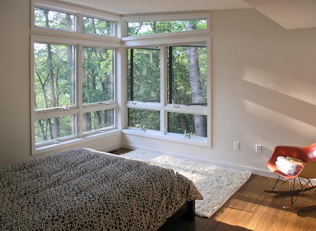 Brown Bar bedroom modern-bedroom