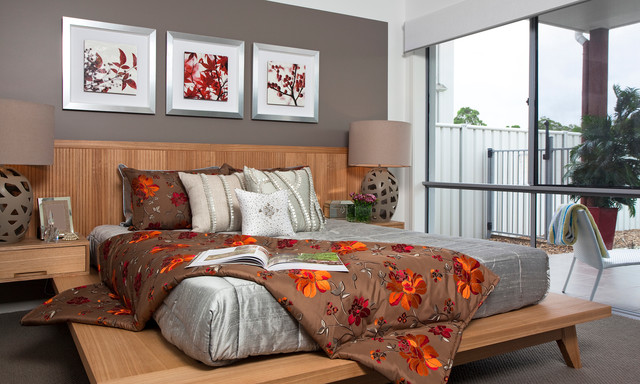 modern bedroom by Signature Designs by Bonnie Bagley