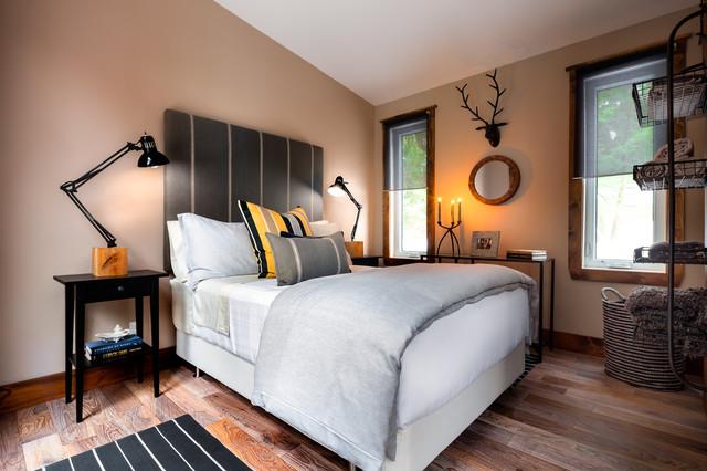 Modern bunkie muskoka modern bedroom toronto by for Bunkie interior designs