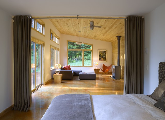 Modern Cabin modern bedroom