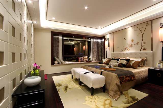 Modern Chinese style - Asian - Bedroom - Other - by LAN&SD