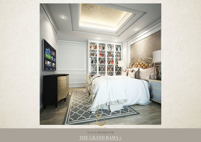 Modern Colonial Interior Design American Southwest Bedroom Other By Interior Stylist,Bedroom Office Design Ideas
