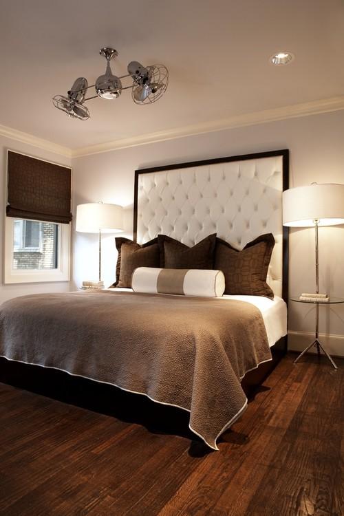Modern Craftsman Guest Room