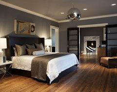 Modern Craftsman Master Bedroom contemporary-bedroom