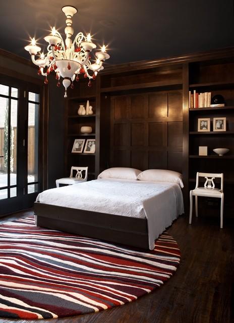 Modern Craftsman Murphy Bed contemporary-bedroom