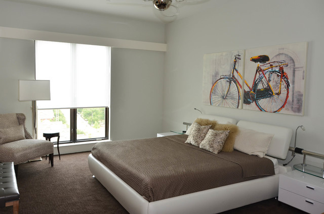 Janice's NEW Fort Worth Loft contemporary-bedroom
