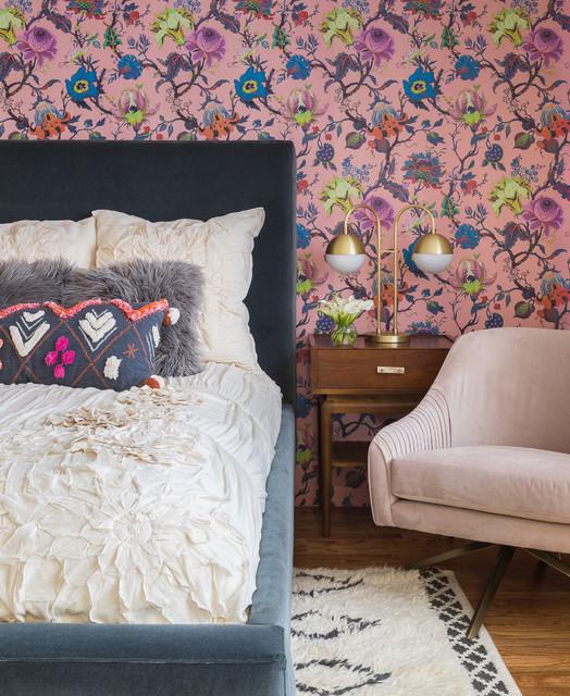 Modern Eclectic Family Home eclettico-camera-da-letto