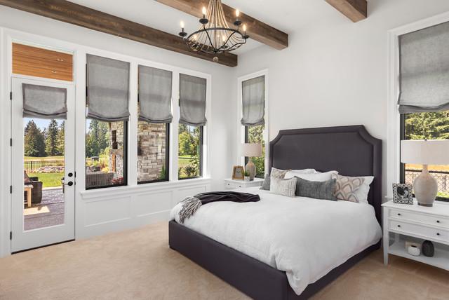 Modern English Farmhouse Hillsboro Oregon Country Bedroom Portland By Westlake Development Group Llc Houzz Uk