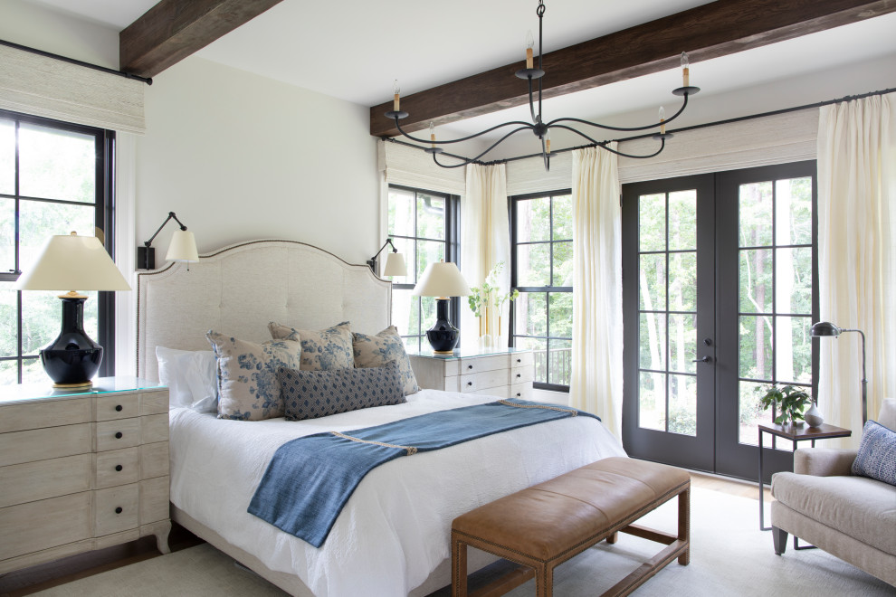 Modern Farmhouse Home Farmhouse Bedroom Atlanta By Meriwether Design Group