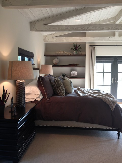 Idéer för lantliga sovrum