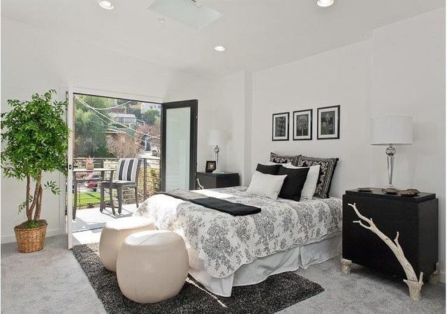 Modern Farn House contemporary-bedroom