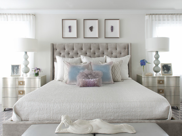 MODERN GLAM Transitional Bedroom