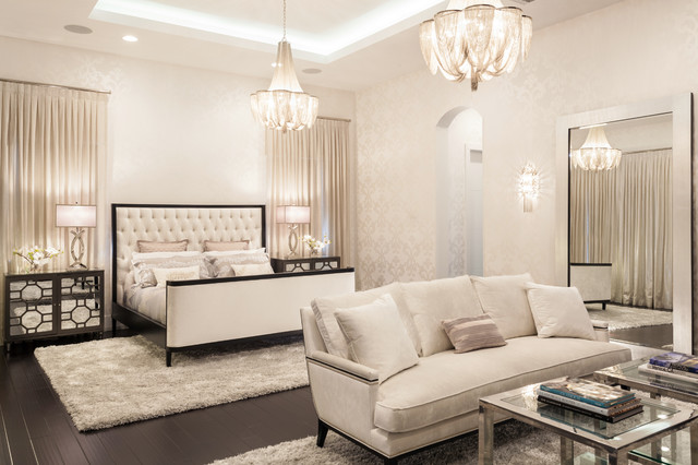 Modern Glamour   Contemporary   Bedroom   Miami   By Marilee ...