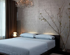 Modern High-Rise contemporary-bedroom