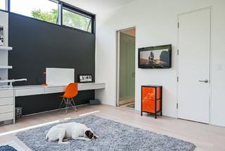 Modern Home in Oakville Ontario scandinavian-bedroom