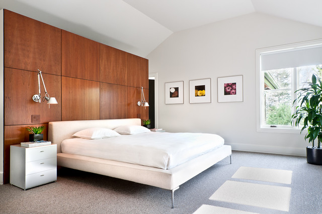 modern bedroom by Kimberly Demmy Design