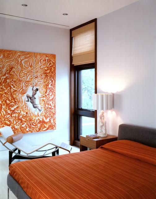 Modern Home modern-bedroom