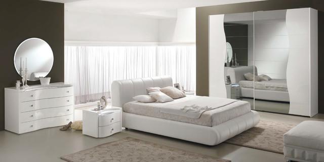 Modern Italian Bed / Bedroom Set Sax by Spar - $3,299.00 ...