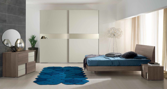Modern Italian Bed Bedroom Style By