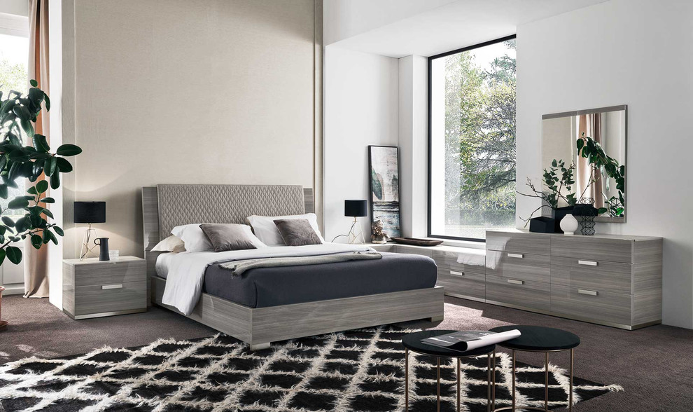 Modern Italian Bedroom Set Iris By Alf Group Modern Bedroom