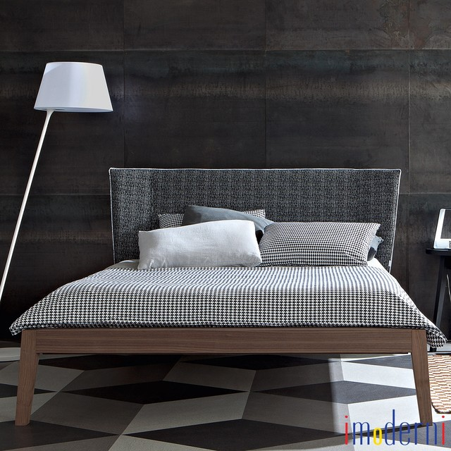 Modern italian beds contemporary bedroom miami by imoderni llc