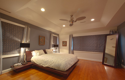 This Platform Bed Is Fabulous. Are The Nightstands Attached?