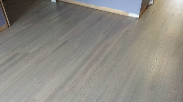 Modern Light Grey Wood Flooring bedroom - Modern Light Grey Wood Flooring - Bedroom - Nashville - By