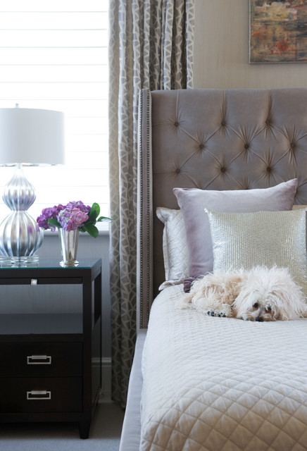 Modern Luxe Contemporary Bedroom Other Metro By