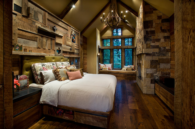Mountain Cabin Rustic Bedroom Phoenix By IMI