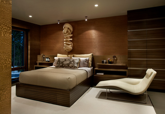 modern mountain lake tahoe contemporary bedroom