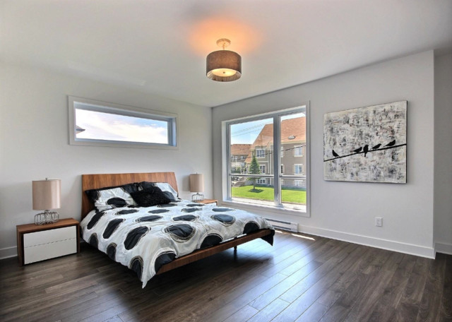 Modern open space bedroom by Concept Dub - Moderno - Camera da Letto - Montreal - di conceptdub