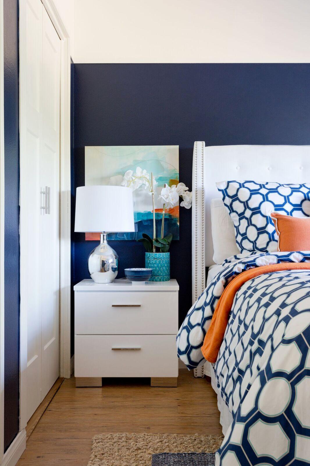 Modern Prep Master Bedroom