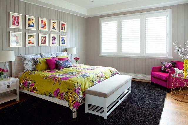 Modern queenslander shorncliffe transitional bedroom - Modern queenslander home designs ...
