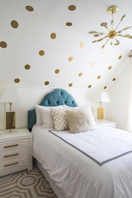 Modern Regency Bedroom Transitional Bedroom Los