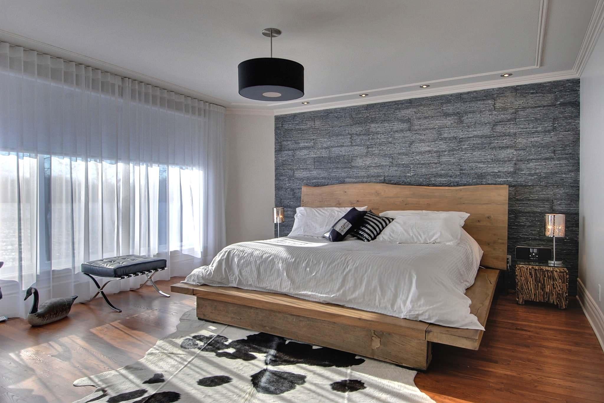 Modern Rustic Bedroom Houzz