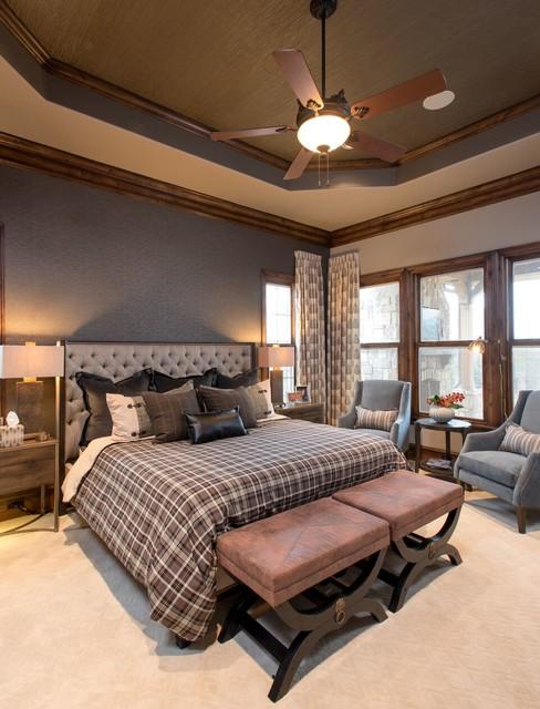 Modern Rustic Master Retreat Rustic Bedroom By Baker Design Group