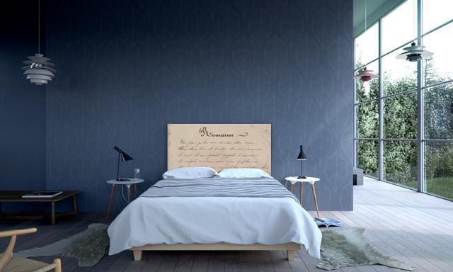 Modern Scandinavian Bedroom, Romance - Minimalistisch - Schlafzimmer ...