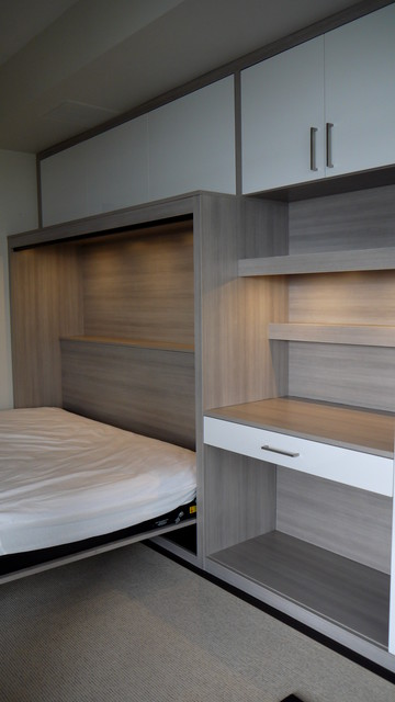 Modern Side Tilt Murphy Bed - Contemporary - Bedroom - toronto - by Space Solutions.ca