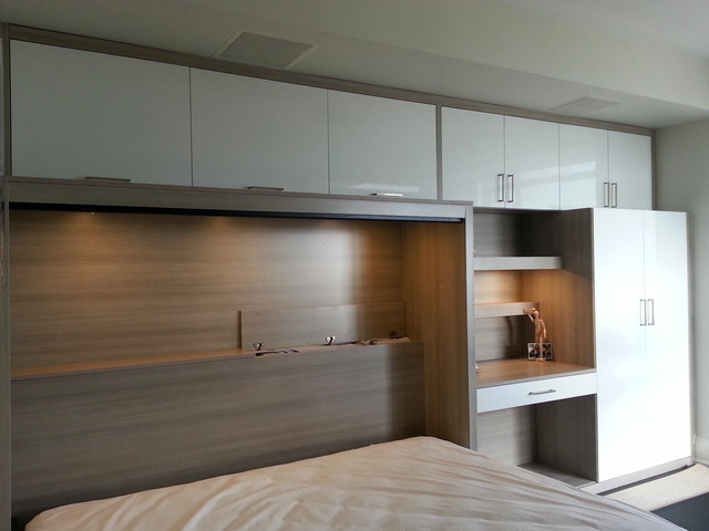 Modern Side Tilt Murphy Bed Contemporary Bedroom Toronto By Space Solutions Ca