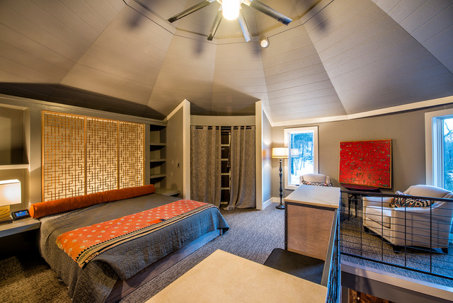 Modern Silo Contemporary Bedroom Other By