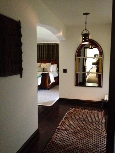 Modern Spanish mediterranean-bedroom
